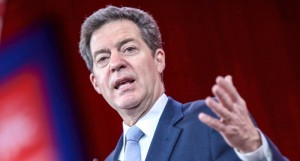 Kansas Republican Governor Sam Brownback