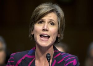 Deputy Attorney General Sally Yates instructed Justice Department officials Thursday to end its use of private prisons. Credit: Carolyn Kaster/AP