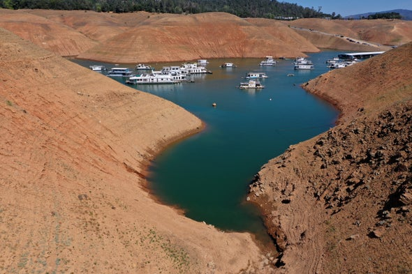 Drought threatens to shut down a California hydro plant for the first time
